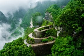 Tianmen mountain, Chine