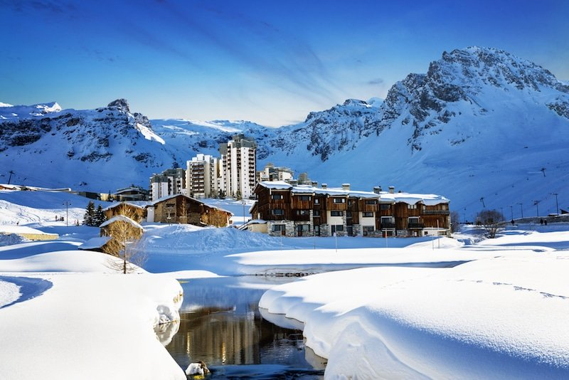 Tignes - Station de ski, France