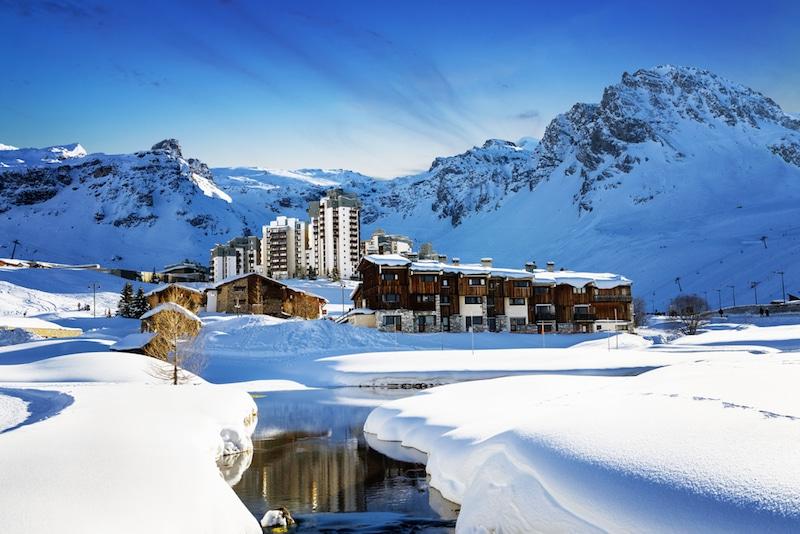 Tignes-Station de ski, France