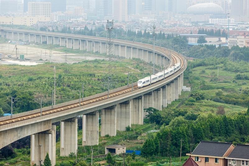 Train, Chine