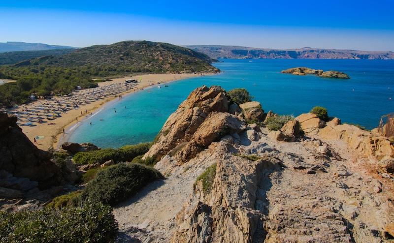 Vaï, Crète