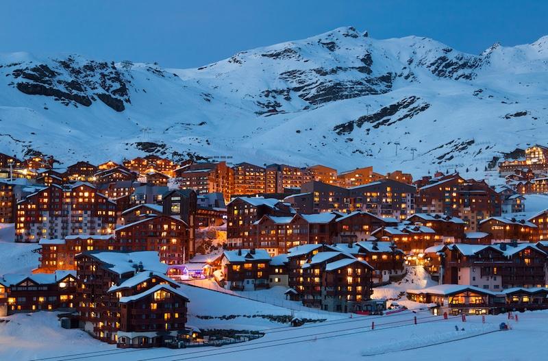 Val Thorens-Station de ski, France