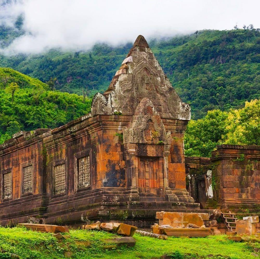 Temple Wat Phou, Laos