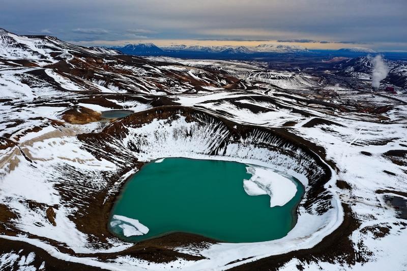 Víti, Islande