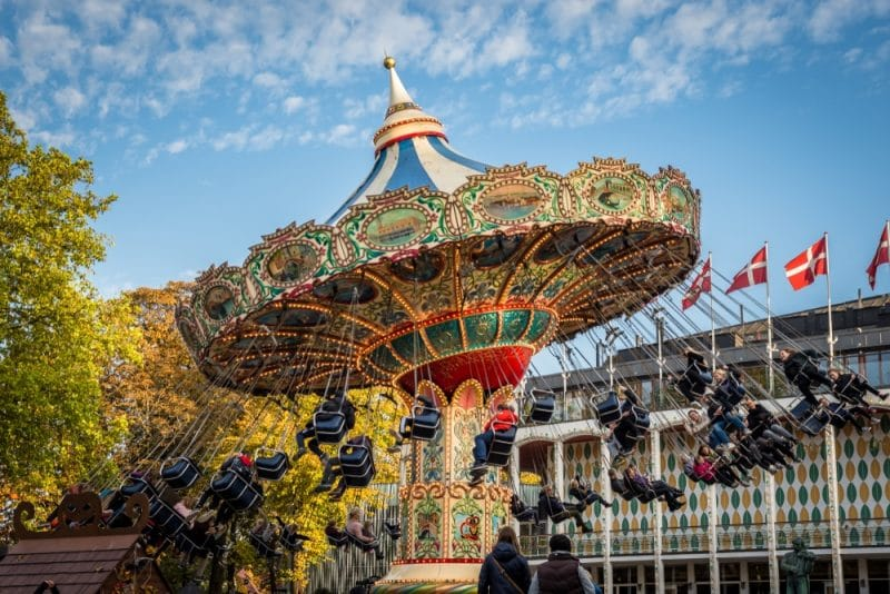 Que voir et faire aux Jardins Tivoli à Copenhague