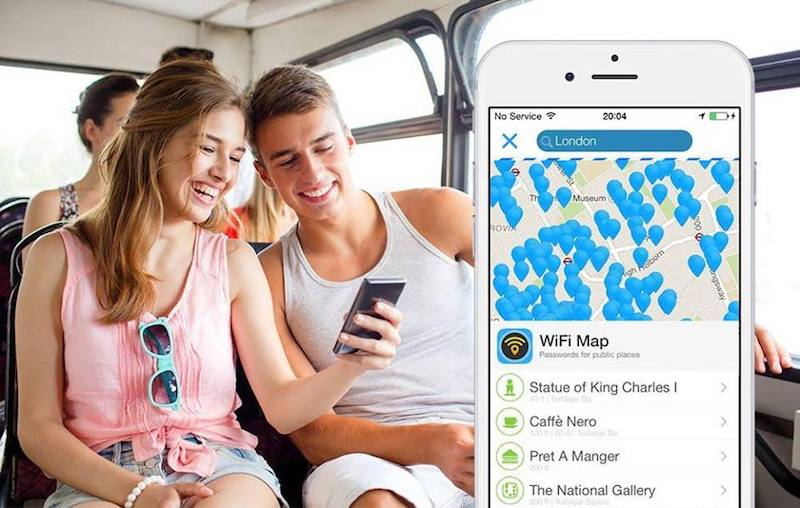 Wifi Map Wifi Gratuit Dans Le Monde Avis Et Test