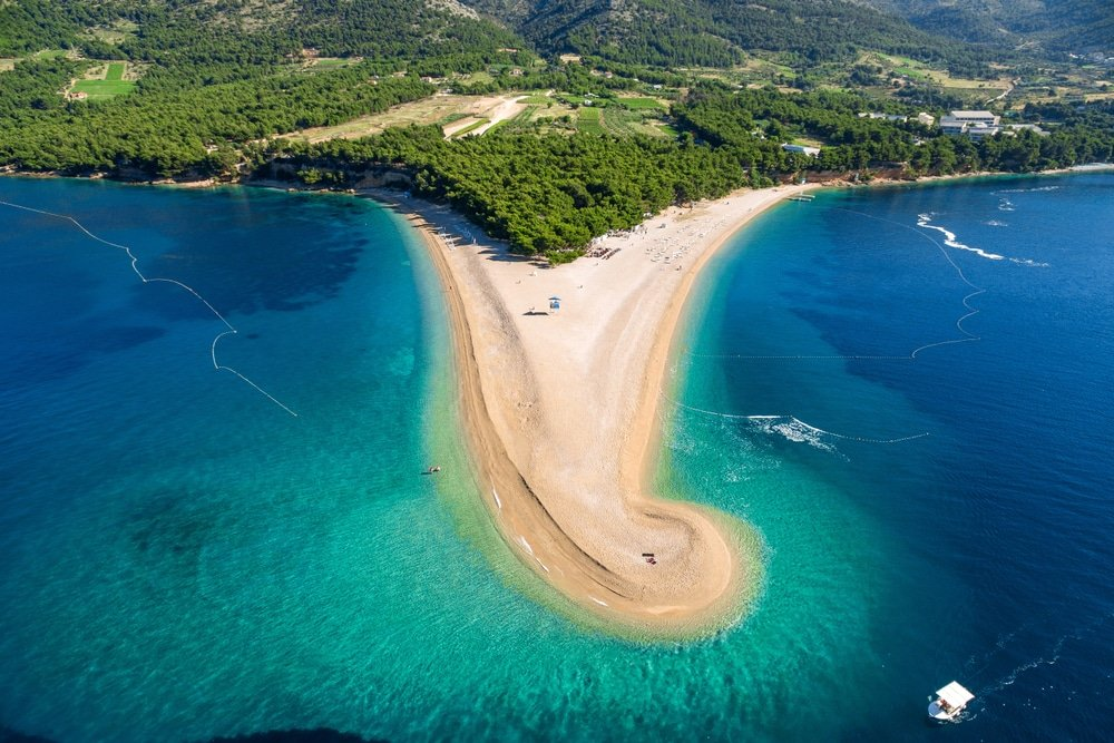 Zlatni Rat, Croatie