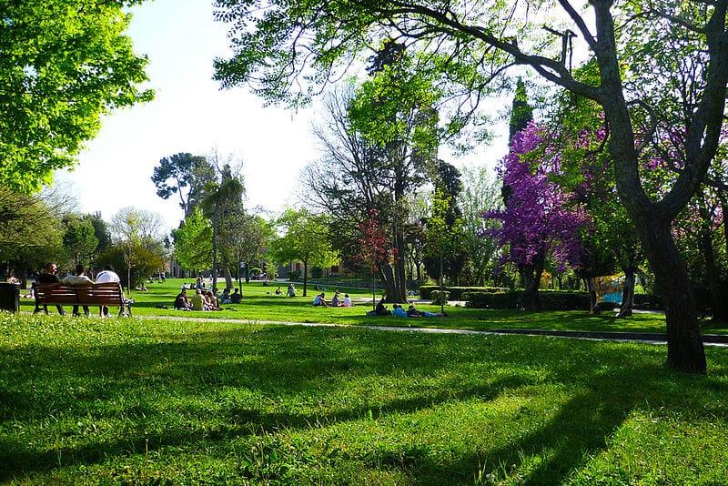 Aix en Provence Parc Jourdan