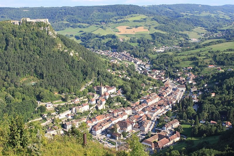 Jura village Salins les Bains
