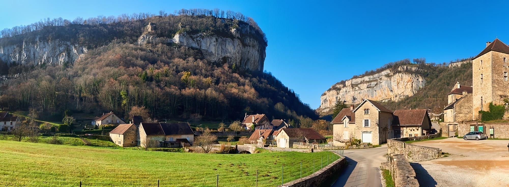 Jura villages visiter Beaume les Messieurs