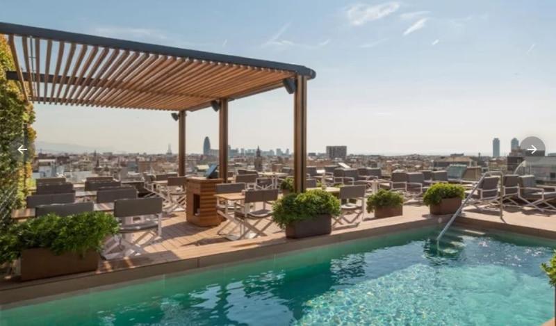 Meilleur Rooftop Barcelone - la dolce vitae