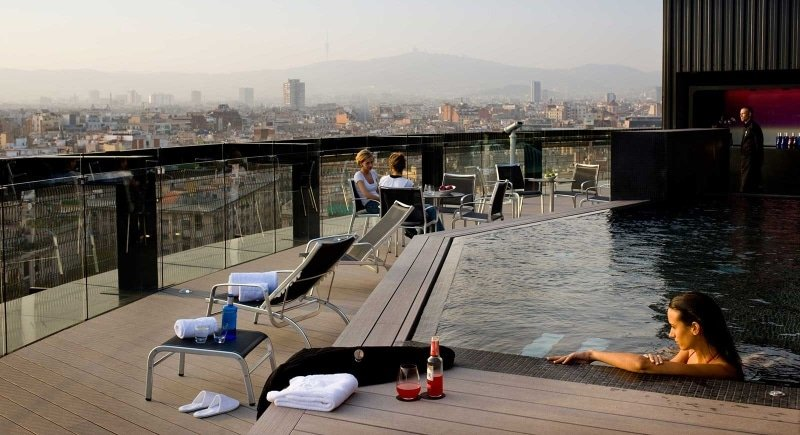 Meilleur roofotop Barcelone - Barcelo Raval