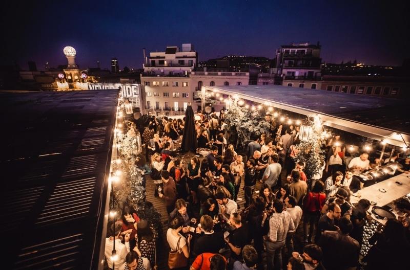 Meilleur rooftop Barcelone - Terraza Pulitzer