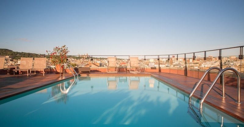 Meilleur rooftop barcelone - La Isabela