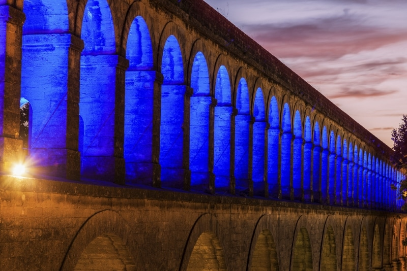 Montpellier - Aqueduc Arceaux