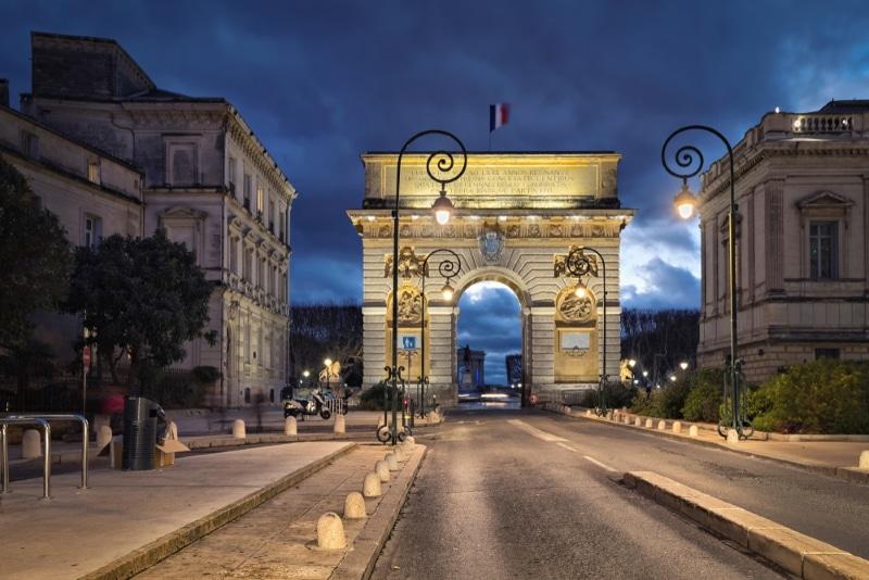 Montpellier - Arc de Triomphe