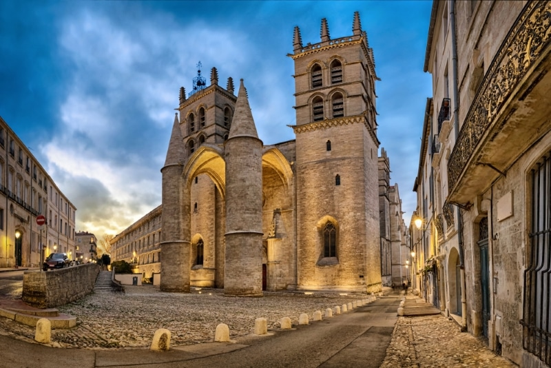 Montpellier - Cathedrale Saint-Pierre