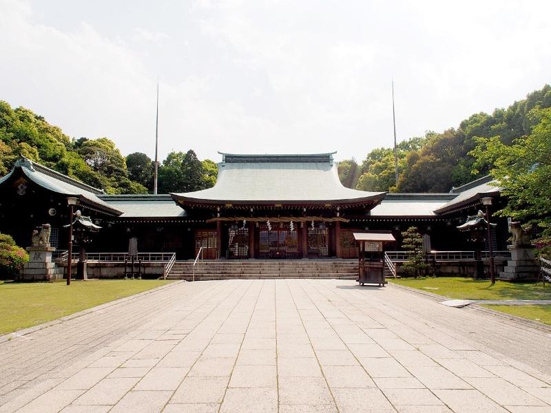 Oita - Gokoku jinja