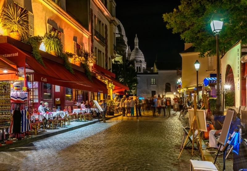 Activité à faire à Paris gratuit - vie nocturne