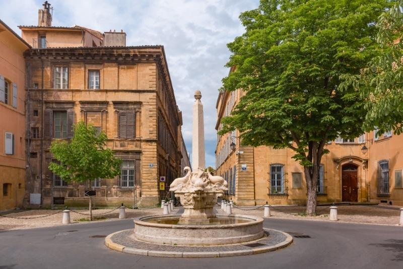 Aix en Provence Quartier Mazarin