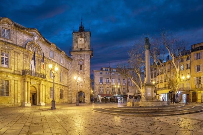Aix en Provence Place hôtel de Ville