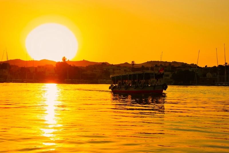 bateau de croisère sur le Nil