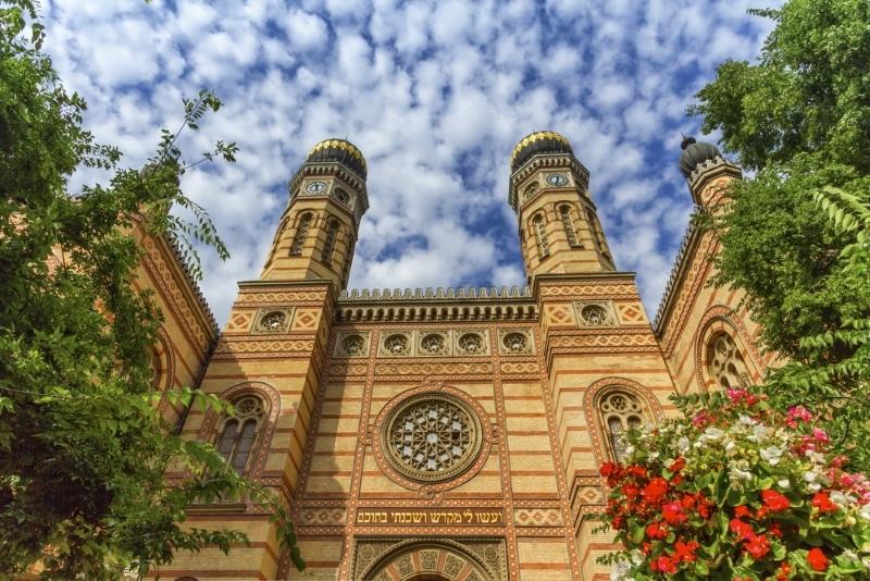 Budapest grande synagogue exterieur