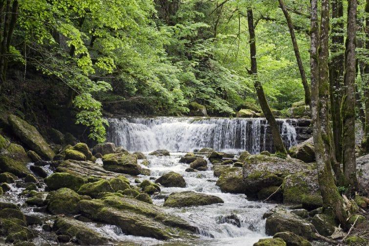 La cascade du Hérisson, Jura
