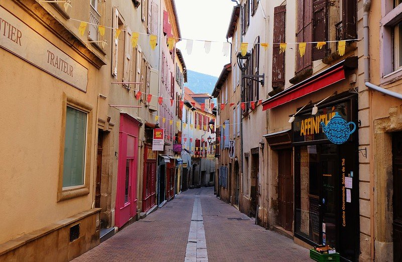 centre historique de Millau