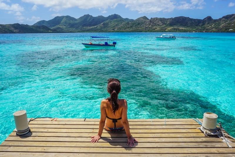 Colombie caraibes mer turquoise Isla Providencia