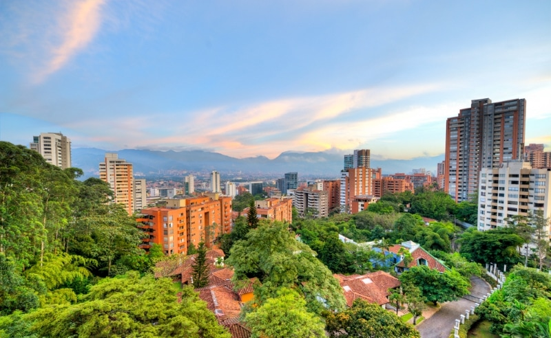Colombie immeubles Medellin