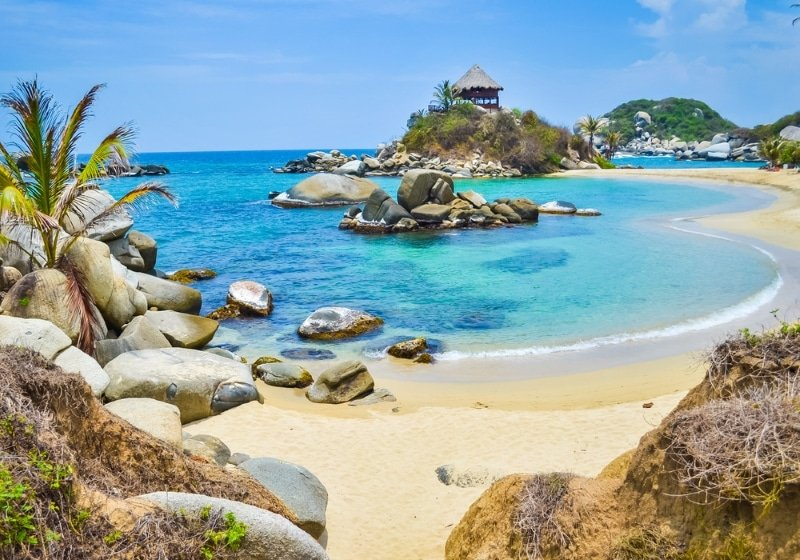 colombie plage parc tayrona