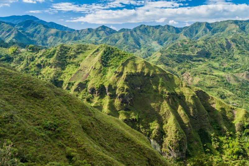Colombie Vallée verte de Tierradentro