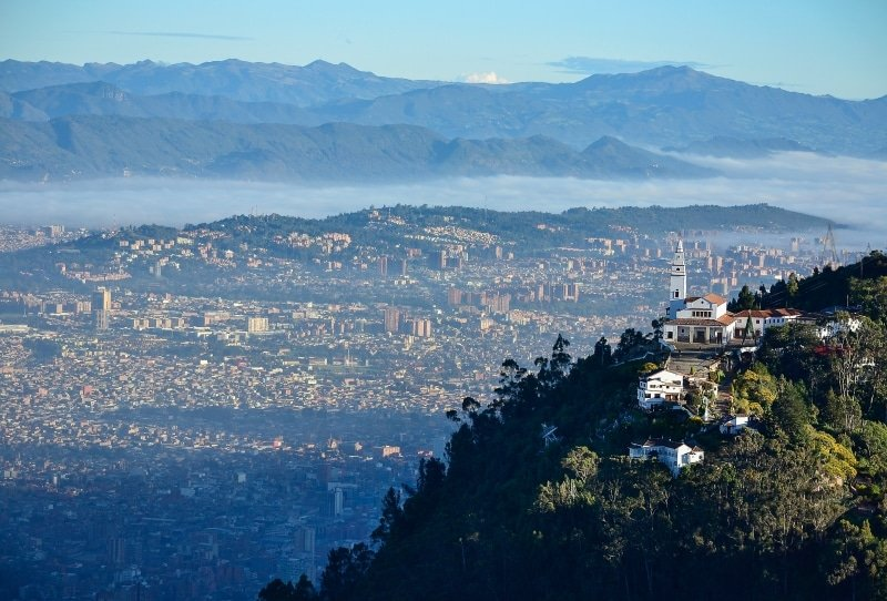 colombie vue Bogota