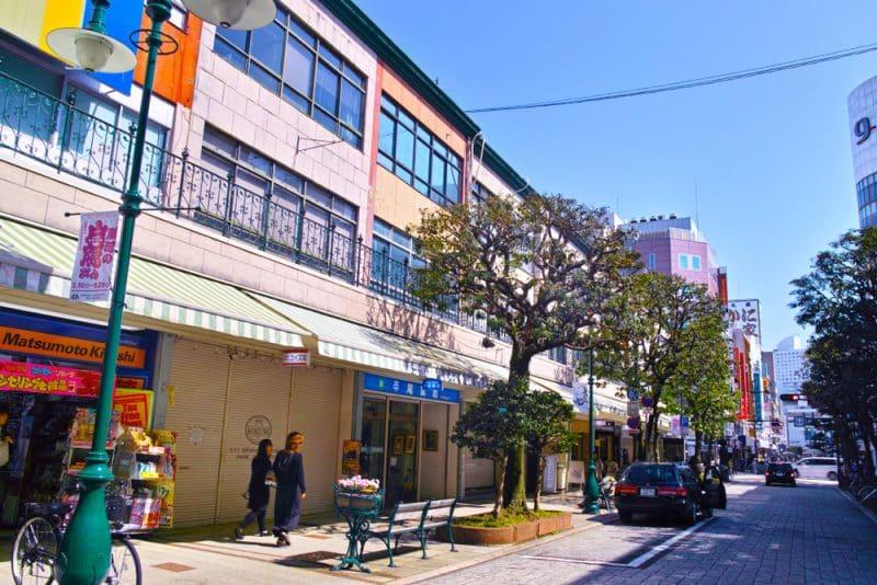 Quartier de la gare, Shizuoka