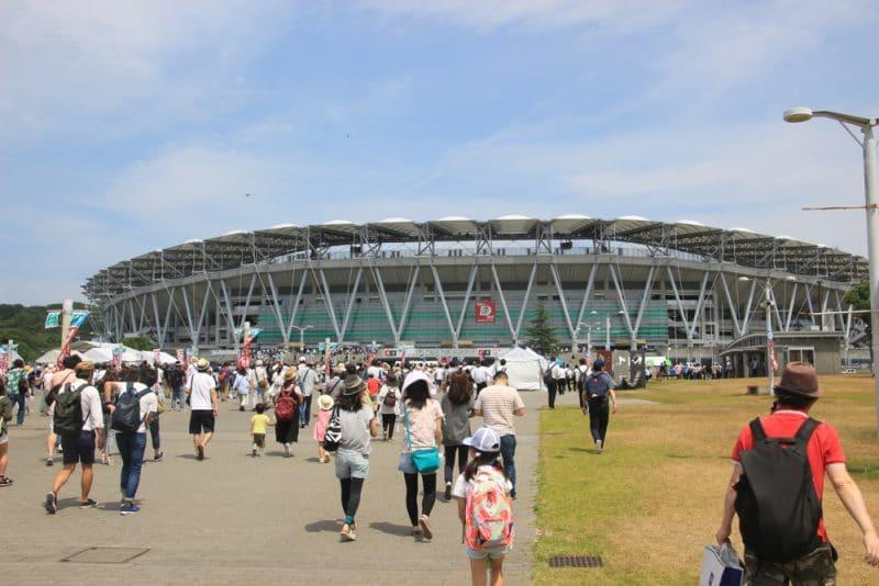 Stade Ecopa, Shizuoka