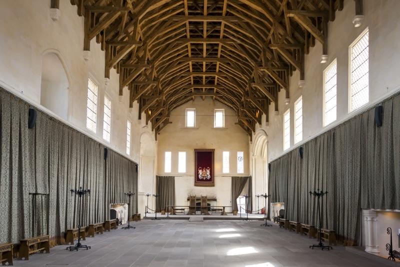 Ecosse Château de Stirling salle voute