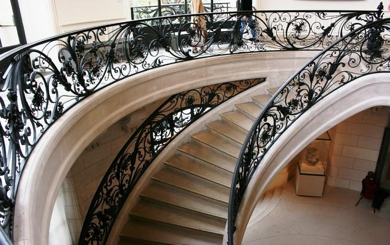 Escaliers Petit Palais à Paris