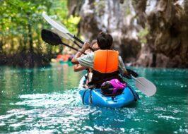 faire canoe kayak dans le jura