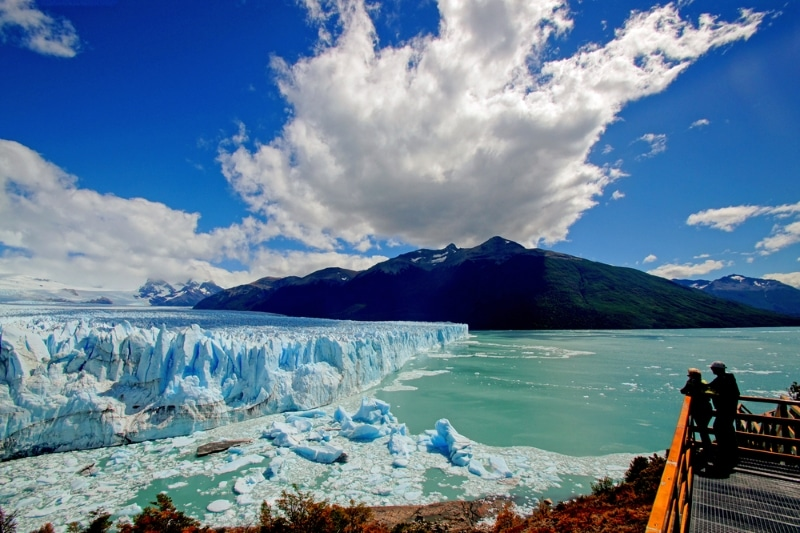 glacier Perito Moreno vue globale