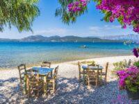 Grece Paros restaurant romantique