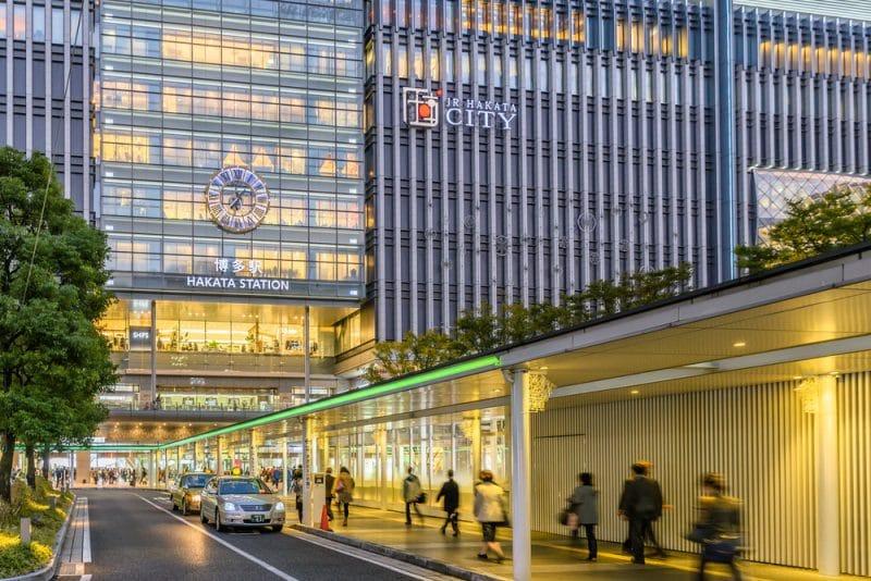Gare d'Hakata, Fukuoka