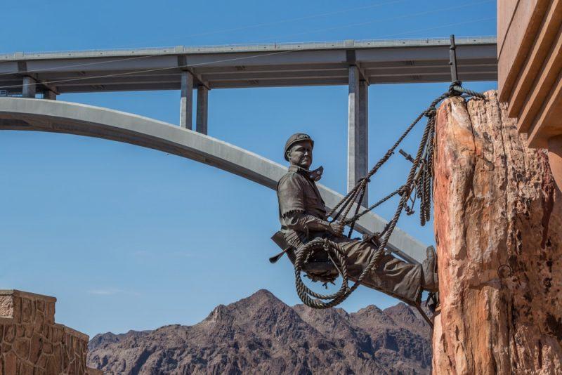 Histoire du barrage Hoover Dam aux Etats-Unis