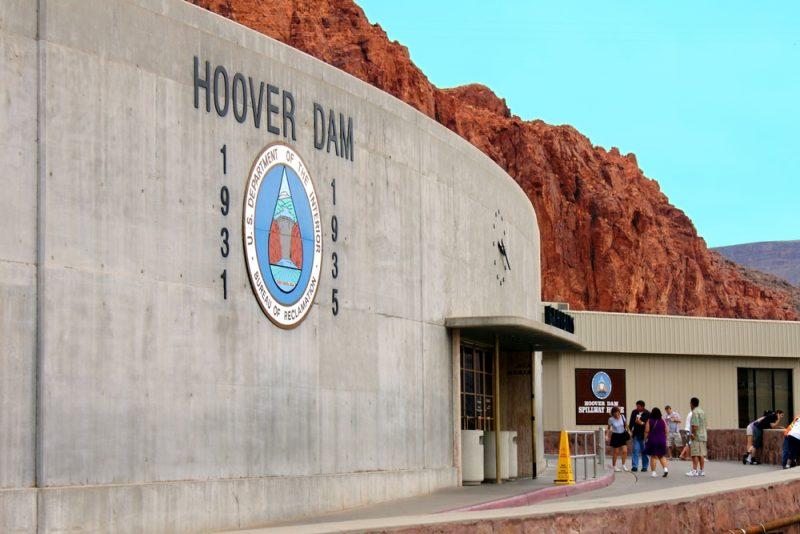 Horaires et tarifs du barrage Hoover Dam aux Etats-Unis
