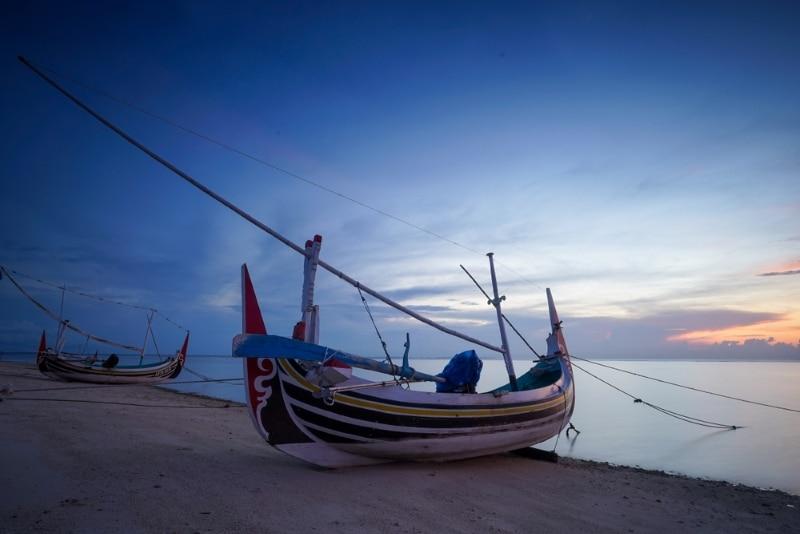 Indonésie, Îles Madura bateau