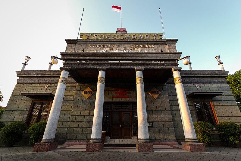 Indonésie, maison Sampoerna