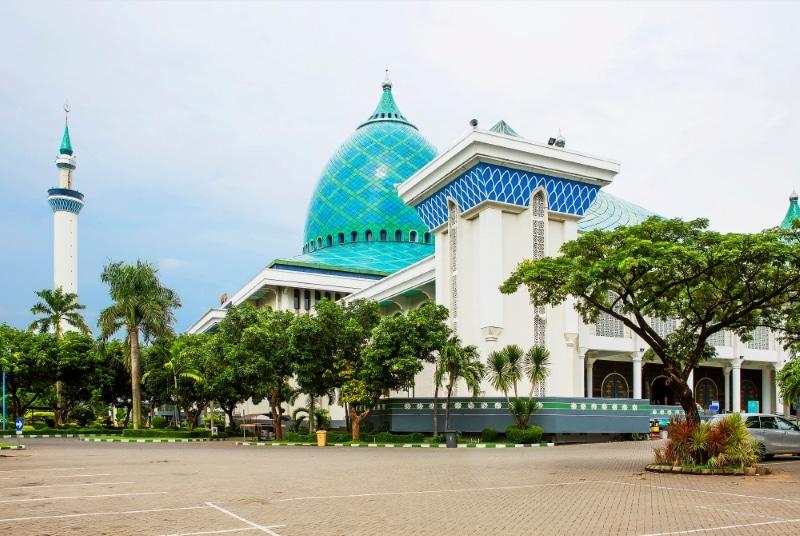 Indonésie Surbaya Mosquée Al Akbar