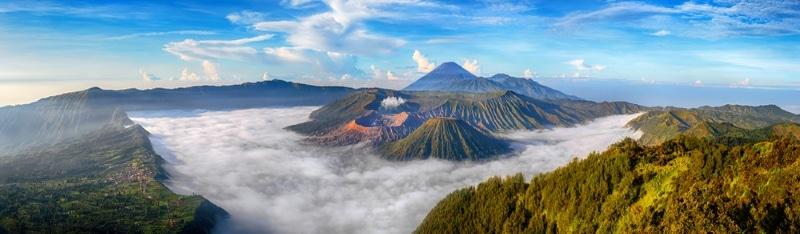 Indonésie Volcan Bromo