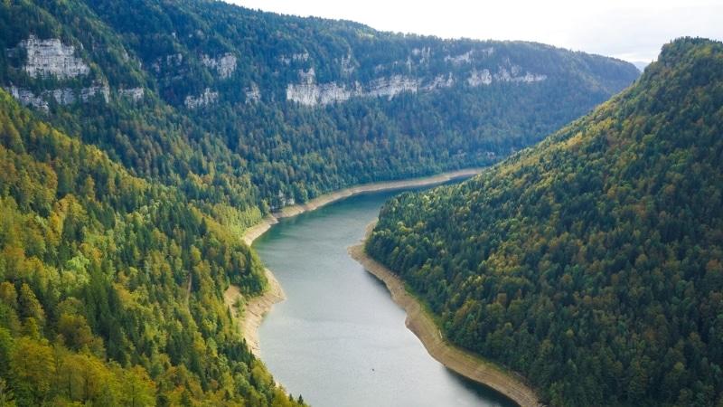 Jura kayak, rivière Doubs