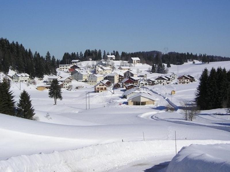 Jura Moussières station neige